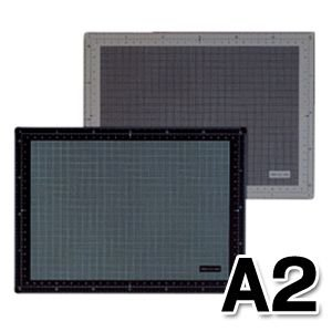 ポイント5倍 バンコ VANCO カッティングマット A2サイズ (ブラック)|enauc
