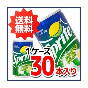 送料無料 スプライト 160ml缶(30本入り) 炭酸飲料 ソフトドリンク コカ・コーラ社商品 メーカー直送 代引き不可 同梱不可 ラッピング不可|enauc