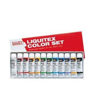 ポイント10倍 リキテックス アクリル絵の具 リキテックスカラーセットレギュラータイプ 中間色12色セット 6号チューブ|enauc