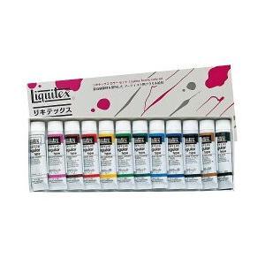 ポイント10倍 リキテックス アクリル絵の具 リキテックスカラーセットレギュラータイプ ミキシング12色セット 6号チューブ|enauc