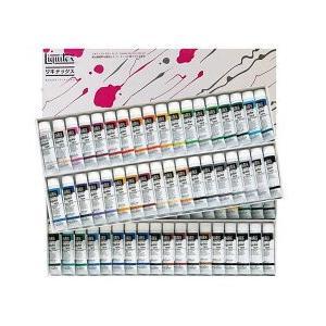 ポイント10倍 送料無料 リキテックス アクリル絵の具 リキテックスカラーセット レギュラータイプ 70色セット 72本 36色A+B|enauc
