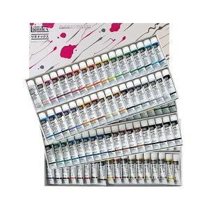ポイント10倍 送料無料 リキテックス アクリル絵の具 リキテックスカラーセット レギュラータイプ 108色 全色セット 6号チューブ|enauc