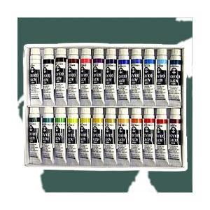ポイント10倍 ターナー アクリル絵の具 ターナー アクリルガッシュ 24色 スクールセット 11ml チューブ入|enauc