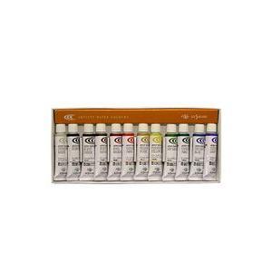 ポイント5倍 クサカベ 水彩絵の具 12色セット 2号チューブ 5ml NW-12|enauc