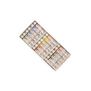 ポイント5倍 クサカベ 水彩絵の具 18色セット 2号チューブ 5ml NW-18|enauc