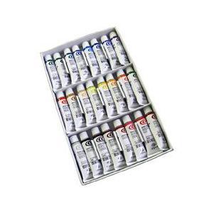 ポイント5倍 クサカベ 水彩絵の具 24色セット 2号チューブ 5ml NW-24|enauc