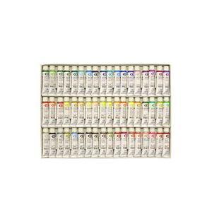 ポイント5倍 送料無料 クサカベ 水彩絵の具 54色セット 2号チューブ 5ml NW-54|enauc