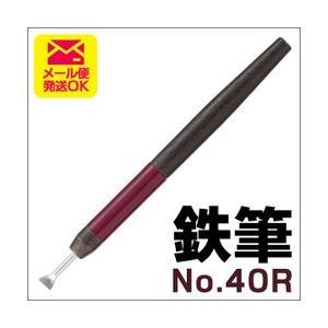 ポイント5倍 メール便可 鉄筆 No.40R 0.8mm バンコ VANCO テッピツ|enauc