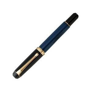 ポイント5倍 送料無料 呉竹 万年筆 くれ竹 万年筆 夢銀河 鹿角 古代藍染め 14金ペン先 コンバーター式 字幅M DBA140-4|enauc