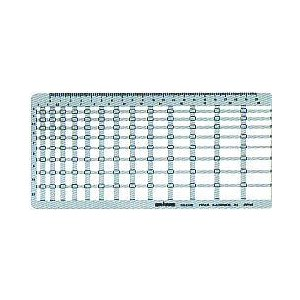 ポイント5倍 ドラパス テンプレート 円 円周 一般用テンプレート 長方形定規