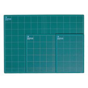 ポイント5倍 カッティングマット セフティベース ハードタイプ KDSグリーン Mサイズ 中|enauc