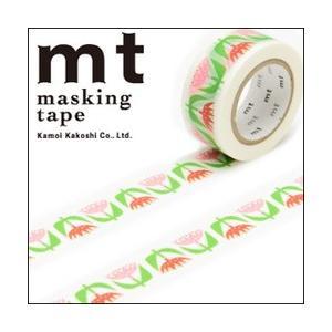 ポイント5倍 mt×ベングト&ロッタ mtマスキングテープ 1巻入りパック tulip(チューリップ)|enauc