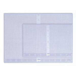 ポイント5倍 カッティングマット セフティベース KDS半透明 ソフトタイプ Sサイズ(小サイズ) 450×300×3mm(A3サイズ|enauc