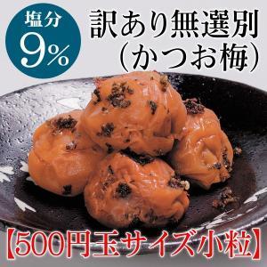 [梅干し]無選別かつお小粒800g(家庭用)梅干しの最高品種・和歌山県産紀州南高梅|enbai