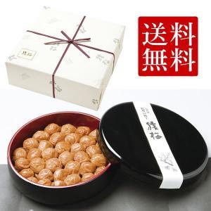 [梅干し]まろやか極上漆器入り(1.6kg)梅干しの最高品種・和歌山県産紀州南高梅|enbai