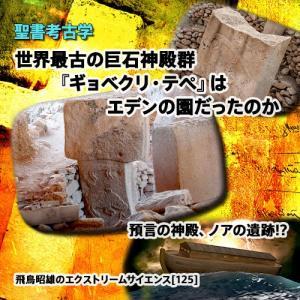 「世界最古の巨石神殿群『ギョベクリ・テペ』はエデンの園だったのか」飛鳥昭雄DVD|enbanya