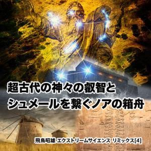 「超古代の神々の叡智とシュメールを繋ぐノアの箱舟」飛鳥昭雄 エクストリームサイエンス リミックスDVD|enbanya