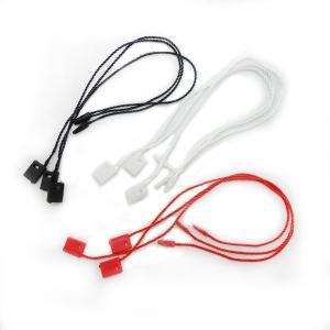糸ループ(タグ付け用紐)100個入り ブラック【ゆうパケット対応】[M便1/5]