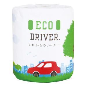 【ケース販売:50個】トイレットペーパー  ECO DRIVER 114mm×30mダブル【メーカー直送:代引き不可:沖縄離島不可:日時指定不可】|encho