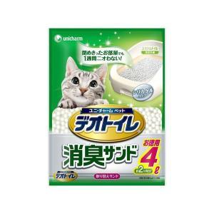 デオトイレ 1週間消臭・抗菌デオトイレ 取り替え専用 消臭サンド 4L|encho
