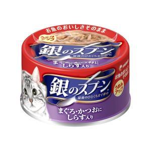 ユニチャーム 銀のスプーン缶 しらす 70g|encho