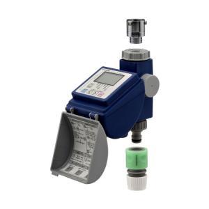 ガオナ 潅水コンピューター (散水タイマー 自動水やり 曜日設定 簡単操作) GA-QE001
