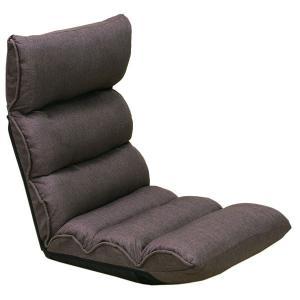 低反発 もこもこ脚楽 座椅子 ダークブラウン DML-バラク encho