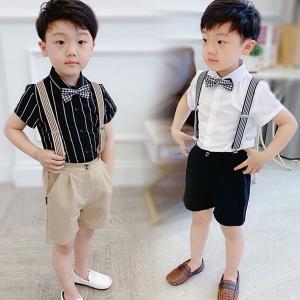 色:A白シャツ+黒ズボン   B黒シャツ+ベージュズボン     C白シャツ+ベージュズボン    ...