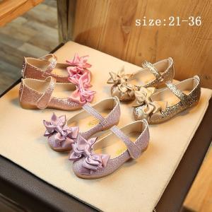 フォーマル靴 子供靴 ファーシューズ 女の子用 プリンセスシューズ リボン きらきら 子供シューズ ...
