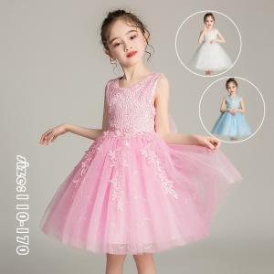 発表会 子供ドレス 女の子 フォーマルドレス 子どもドレス ノースリーブ ドレス プリンセスドレス ...