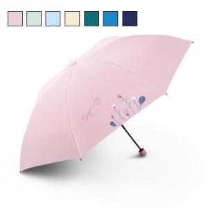 折りたたみ傘 レディース 日傘 雨傘 晴雨兼用傘 折り畳み プリント 折りたたみ傘(3つ折) オシャ...