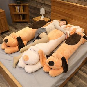 子犬 ぬいぐるみ 添い寝枕 枕 円柱 抱き枕 おもちゃ 子供 可愛い ぐるみ もちゃ クッション 床...