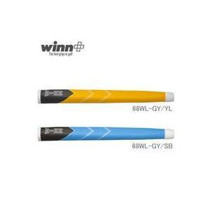 ウィン ホワイトライン ミッドサイズ Winn White Line 68WL-GY|endeavor-golf