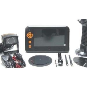 デジタル無線式 バックカメラ&モニター CRV-800|endo-tt