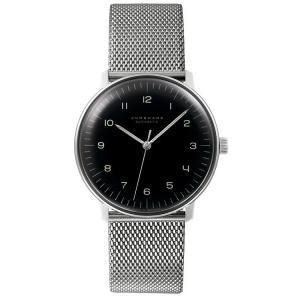 027/3400.00M(2年間保証)ユンハンス正規特約店のマックスビル オートマチック(メンズ腕時計)JUNGHANS正規品|endogemz