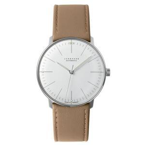 027/3501.00B(2年間保証)ユンハンス正規特約店のマックスビル オートマチック(メンズ腕時計)JUNGHANS正規品|endogemz