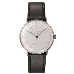 027/3700.00(2年間保証)ユンハンス正規特約店のマックスビル・ハンドワインド(手巻きメンズ腕時計)JUNGHANS正規品|endogemz