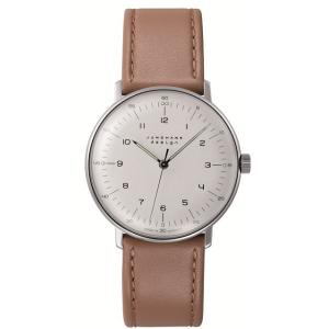 027/3701.00(2年間保証)ユンハンス正規特約店のマックスビル・ハンドワインド(手巻きメンズ腕時計)JUNGHANS正規品|endogemz