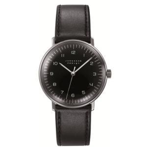 027/3702.00(2年間保証)ユンハンス正規特約店のマックスビル・ハンドワインド(手巻きメンズ腕時計)JUNGHANS正規品|endogemz