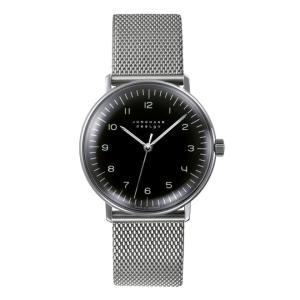 027/3702.00M(2年間保証)ユンハンス正規特約店のマックスビル・ハンドワインド(手巻きメンズ腕時計)JUNGHANS正規品|endogemz