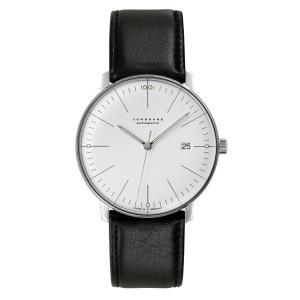 027/4002.00(2年間保証)ユンハンス正規特約店のマックスビル オートマチック カレンダー(メンズ腕時計)JUNGHANS正規品|endogemz
