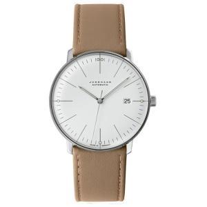 027/4002.00B(2年間保証)ユンハンス正規特約店のマックスビル オートマチック カレンダー(メンズ腕時計)JUNGHANS正規品|endogemz