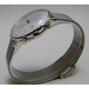 027/4003.44M(2年間保証)ユンハンス正規特約店のマックスビル・クロノスコープ(メンズ腕時計)JUNGHANS正規品 endogemz 02