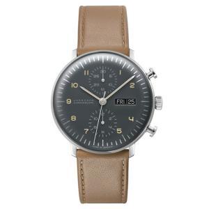 027/4501.01(2年間保証)ユンハンス正規特約店のマックスビル・クロノスコープ(メンズ腕時計)JUNGHANS正規品|endogemz