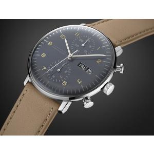 027/4501.01(2年間保証)ユンハンス正規特約店のマックスビル・クロノスコープ(メンズ腕時計)JUNGHANS正規品|endogemz|02