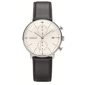 027/4600.00(2年間保証)ユンハンス正規特約店のマックスビル・クロノスコープ(メンズ腕時計)JUNGHANS正規品|endogemz