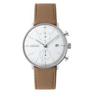 027/4600.00B(2年間保証)ユンハンス正規特約店のマックスビル・クロノスコープ(メンズ腕時計)JUNGHANS正規品|endogemz
