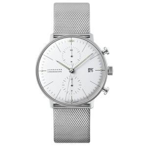 027/4600.00M(2年間保証)ユンハンス正規特約店のマックスビル・クロノスコープ(メンズ腕時計)JUNGHANS正規品|endogemz