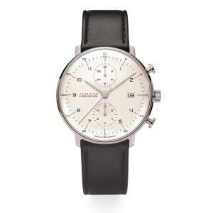 027/4800.00(2年間保証)ユンハンス正規特約店のマックスビル・クロノスコープ(メンズ腕時計)JUNGHANS正規品|endogemz