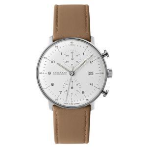 027/4800.00B(2年間保証)ユンハンス正規特約店のマックスビル・クロノスコープ(メンズ腕時計)JUNGHANS正規品|endogemz